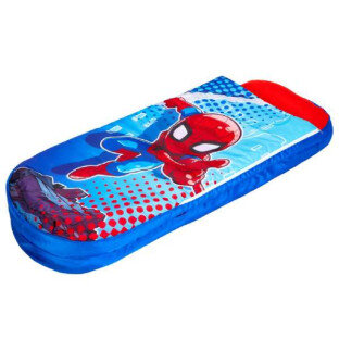 Spiderman luftmadras m sovepose - LykkeLeg