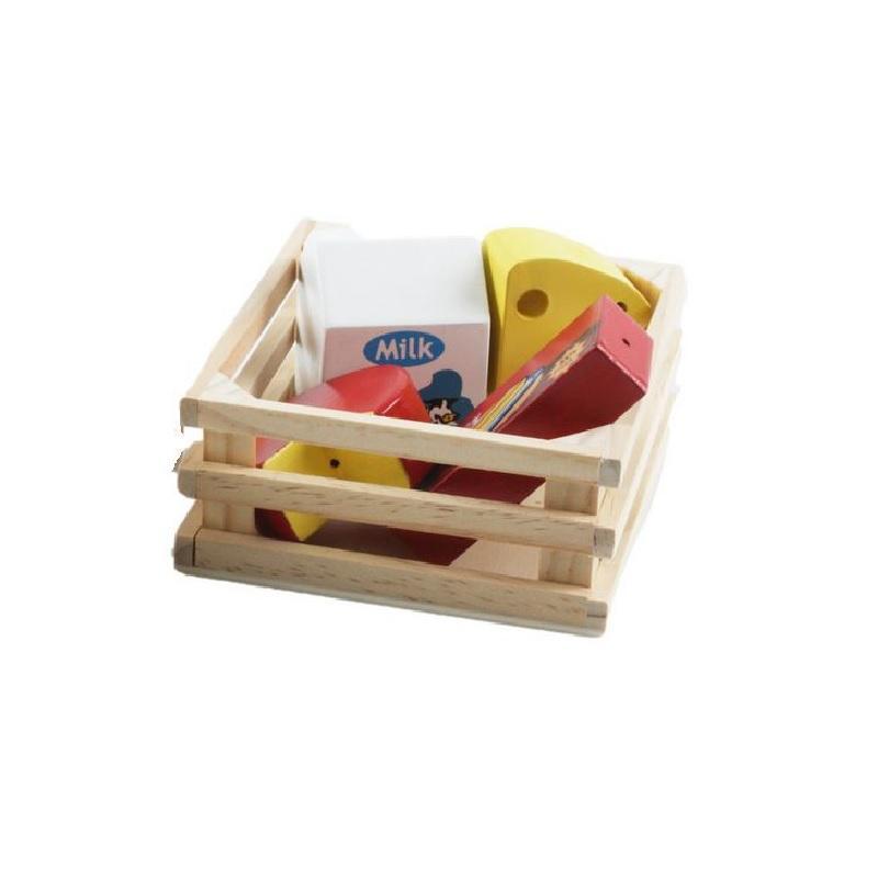 Image of Image Toys kasse med ost og mælk (263908)