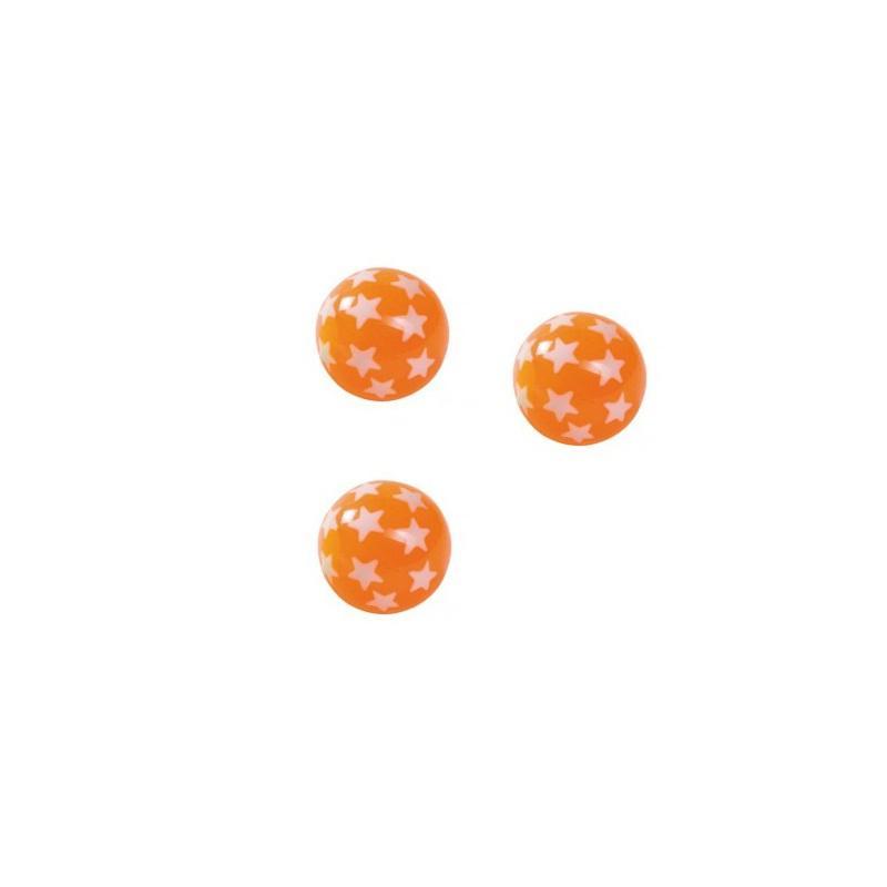 Image of Goki hoppebold med stjerner, orange (621358)