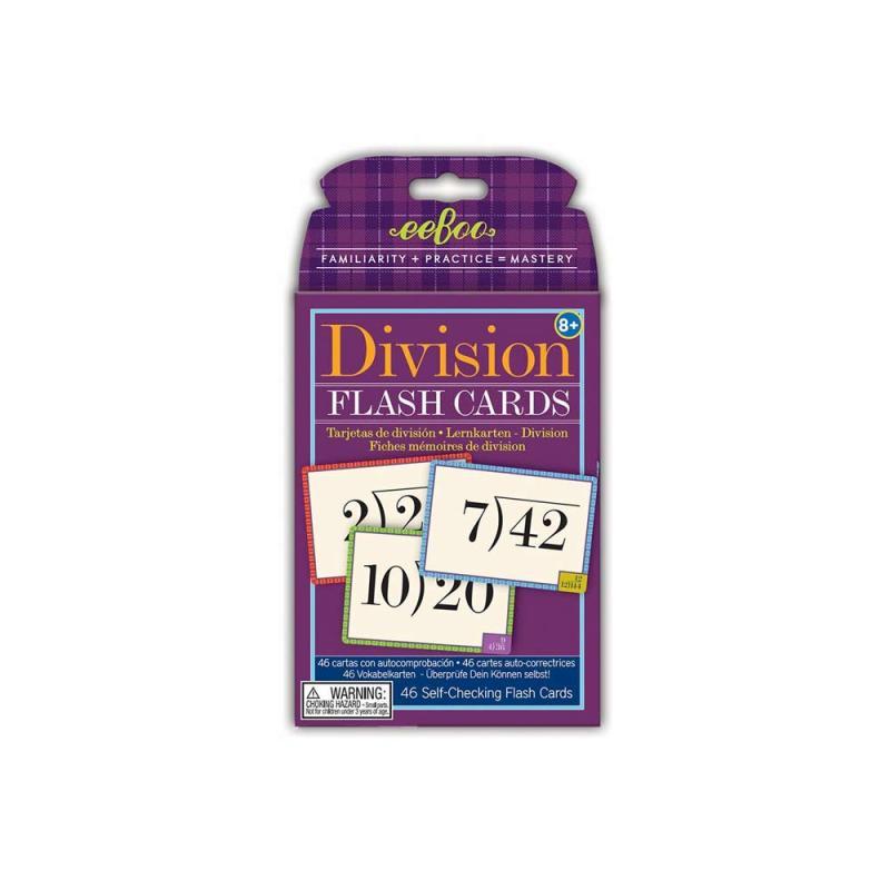 Image of eeBoo regnestykker, lær at dividere (871211)