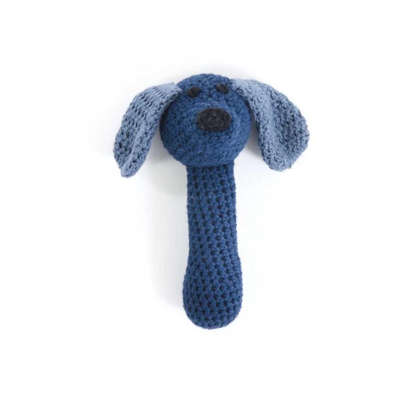 Image of Smallstuff maracas hund, blå (941476)